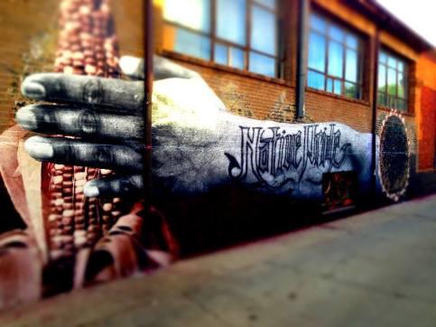 3. running's wall