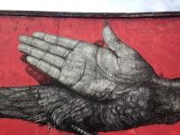 bird + hand