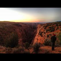 me at the box canyon