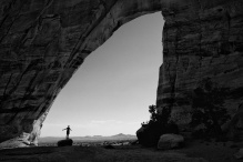 nick-at-white-mesa-arch