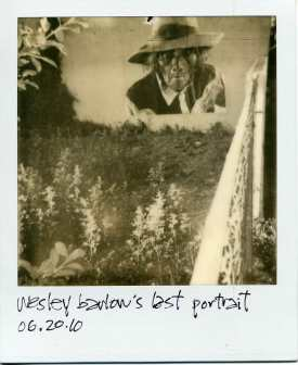 wesley barlow's last portrait