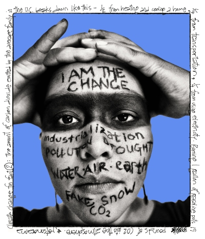 stephanie i am the change (revised blue) 5 inches