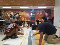 students at navajo mountain
